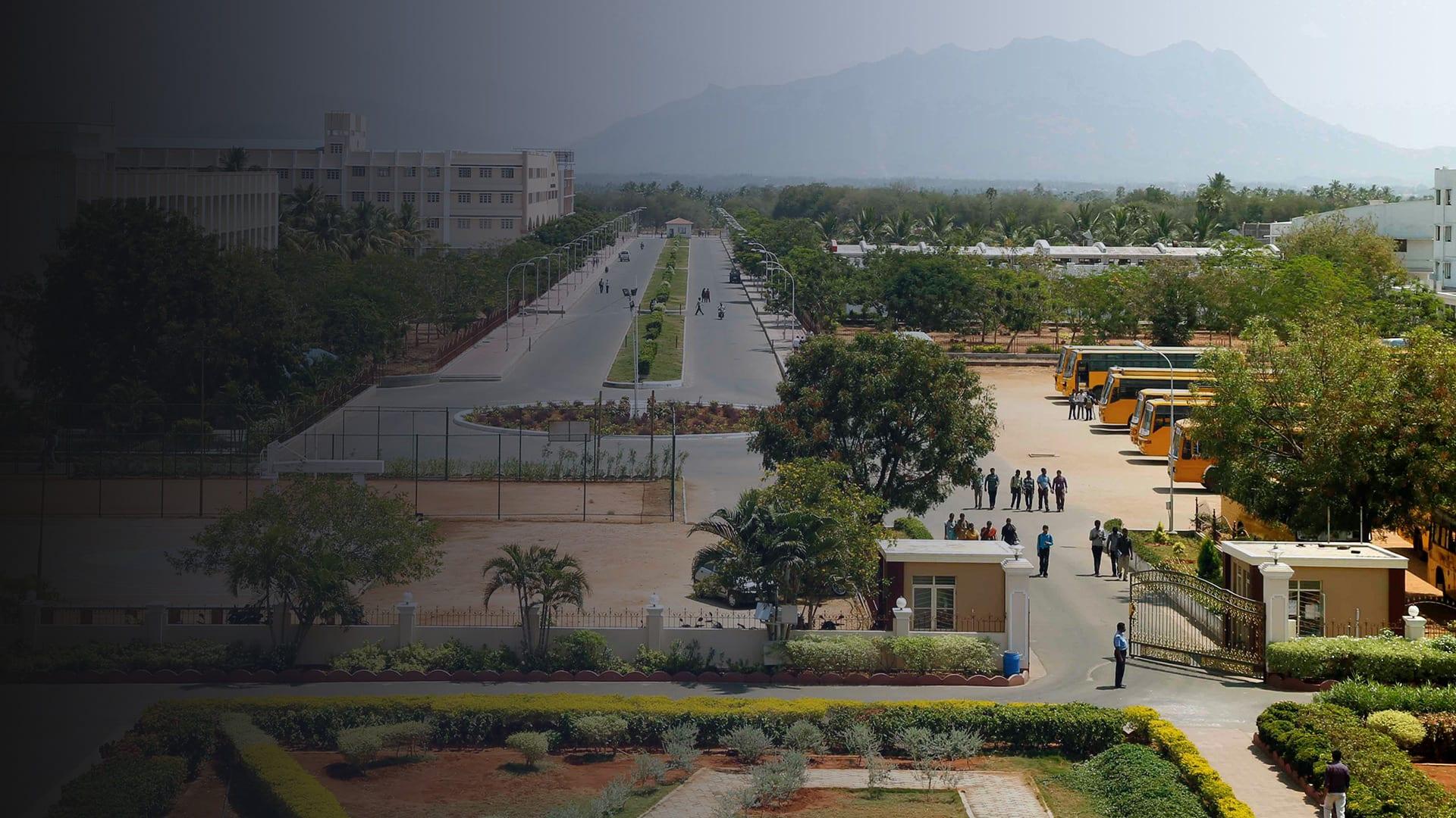 Mahendra college campus